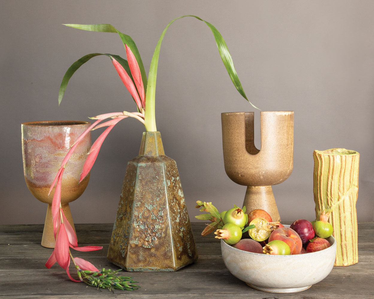 Ceramic vases and bowls by Josh Beckman of FBP Works