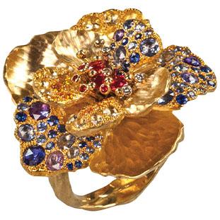 Flora Sapphire Ring