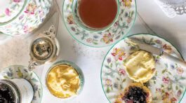 India Hicks' mother's tea set