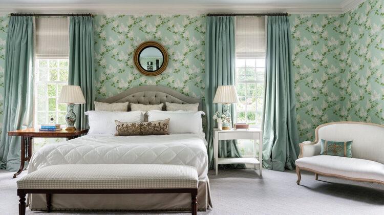 master bedroom designed by Matthew Patrick Smyth