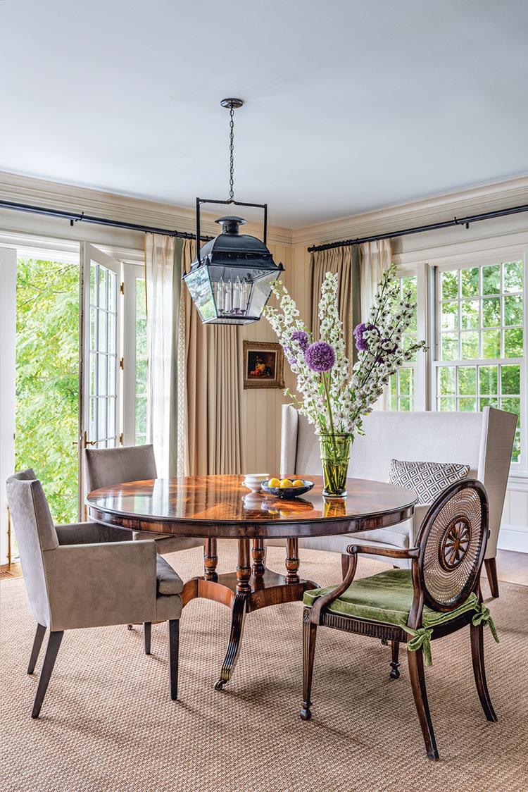 dining room designed by Matthew Patrick Smyth