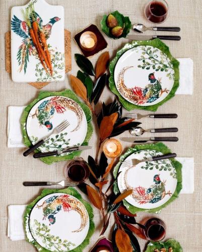 autumn tablesetting