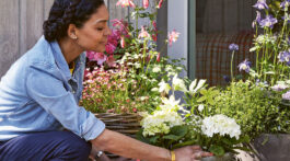 In #6 on our list, Modern Container Gardening (Hardy Grant 2020), Isabel Palmer offers simple projects that will transform your tiny balcony or patio into a gardener's showcase.