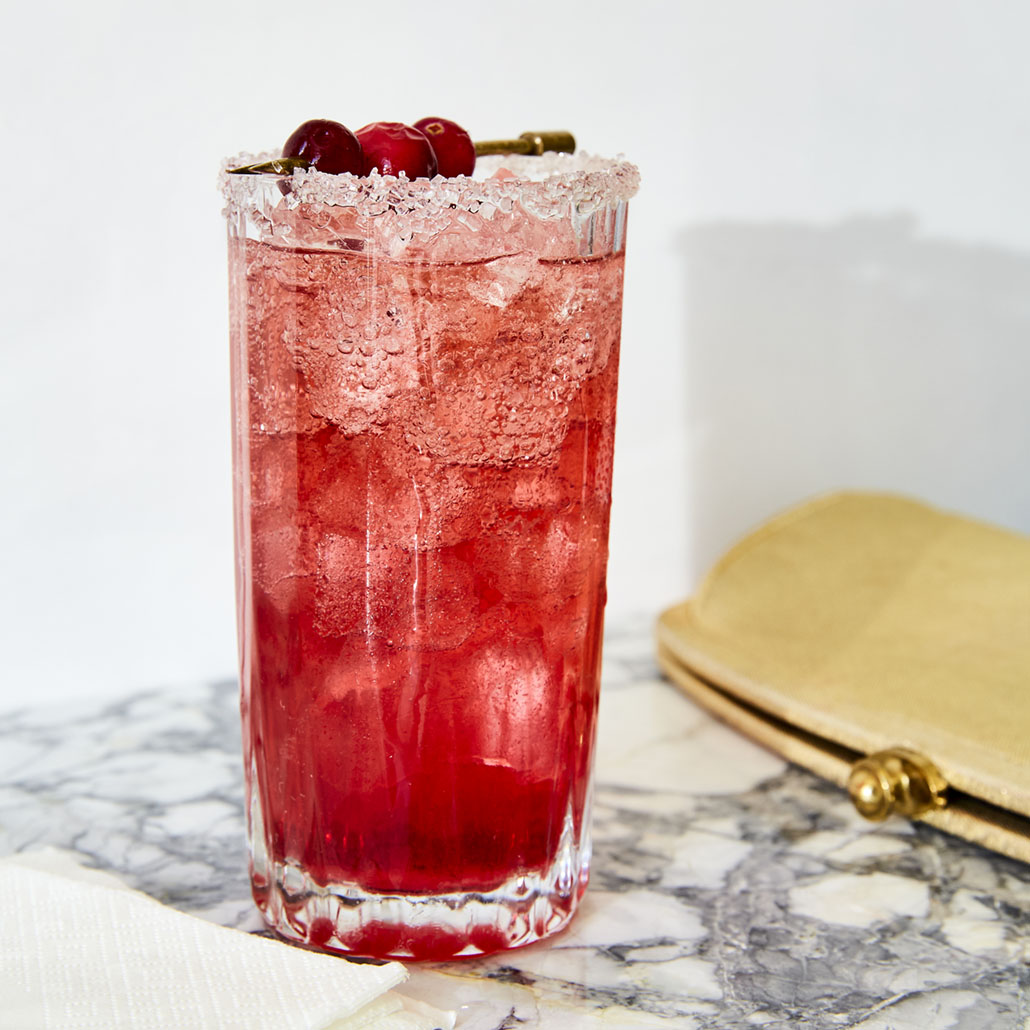 holiday drinks, Cranberry Shrub Cocktail
