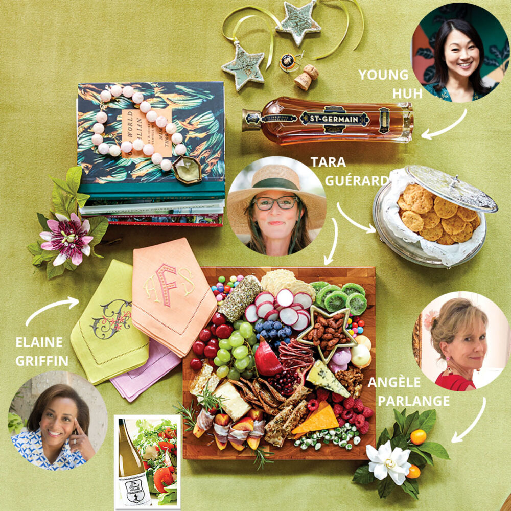 2020 holiday gift ideas from tastemakers Young Huh, ELAINE GRIFFIN, Tara Guérard, Angèle Parlange