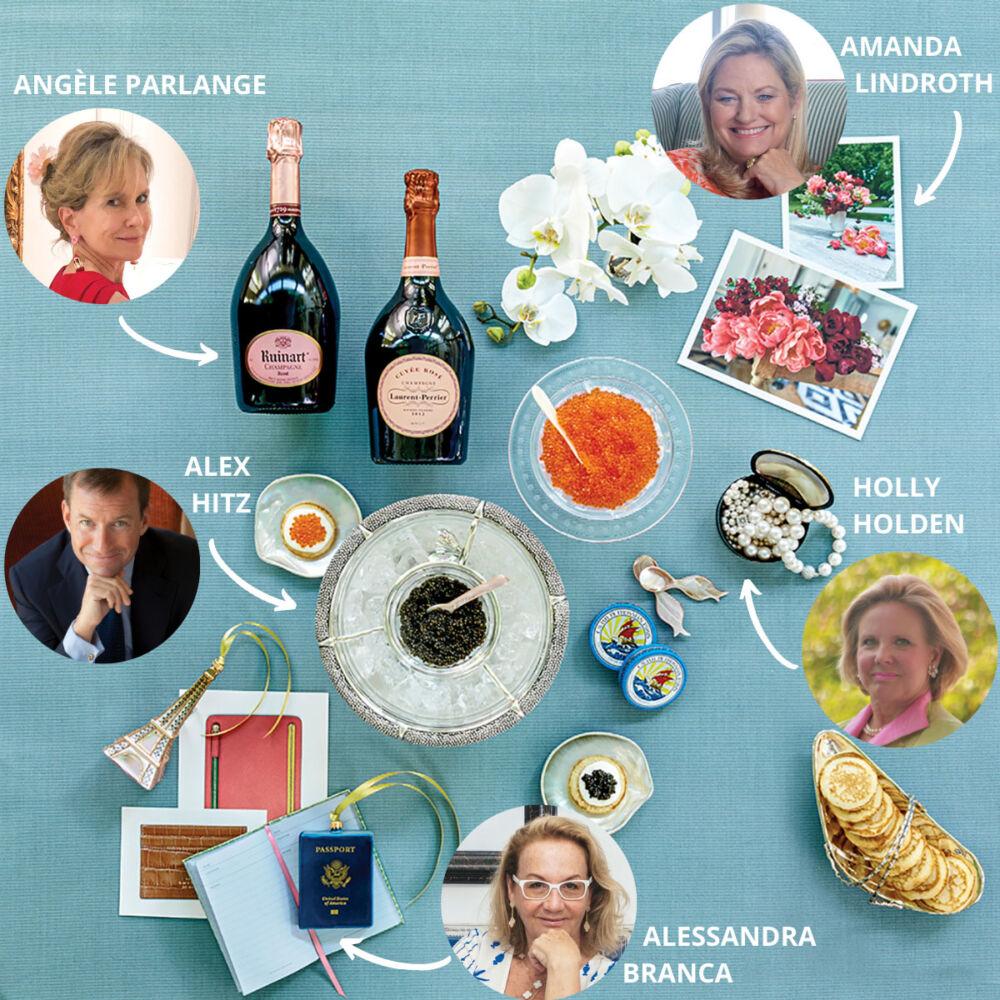 2020 holiday gift ideas from tastemakers AMANDA LINDROTH, HOLLY HOLDEN, ALESSANDRA BRANCA, and ALEX HITZ