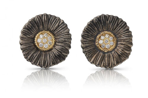 Flower Magazine - Tenenbaum Jewelry Giveaway item: Buccellati 'Daisy' earrings from the Blossom Collection