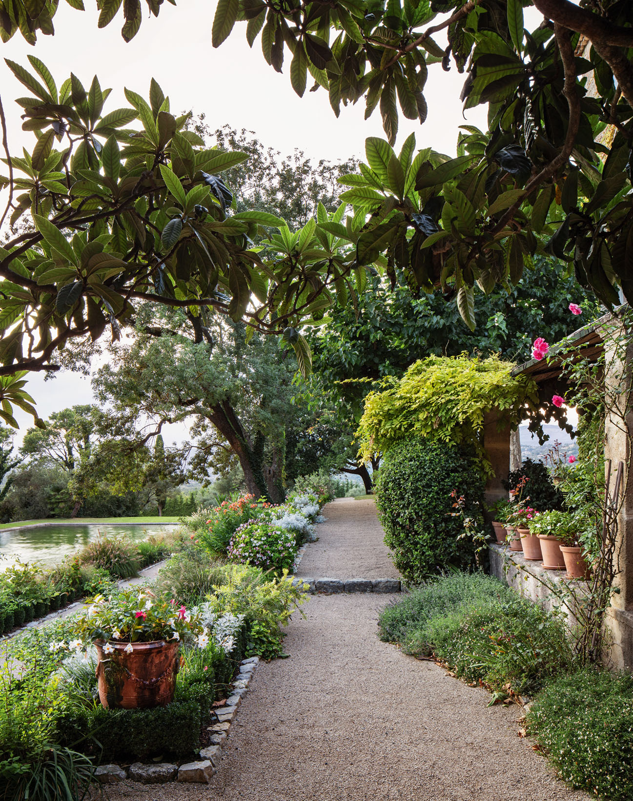 Christian Dior's garden from the book Dior in Bloom