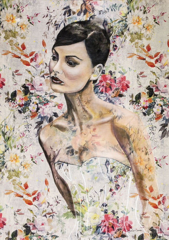 Painting by Irish artist Eva O'Donovan
