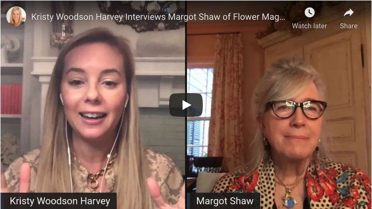 Kristy Woodson Harvey and Margot Shaw split screen