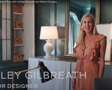 Interior designer Ashley Gilbreath