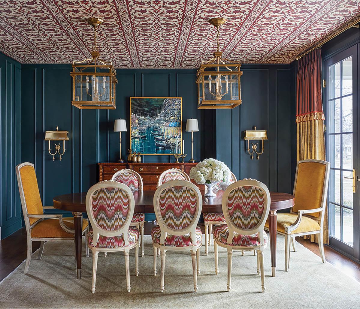 dining room by interior designer Corey Damen Jenkins