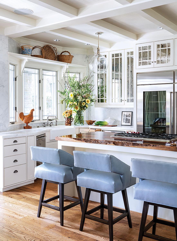 kitchen interior design by Denise McGaha, historic Highland Park