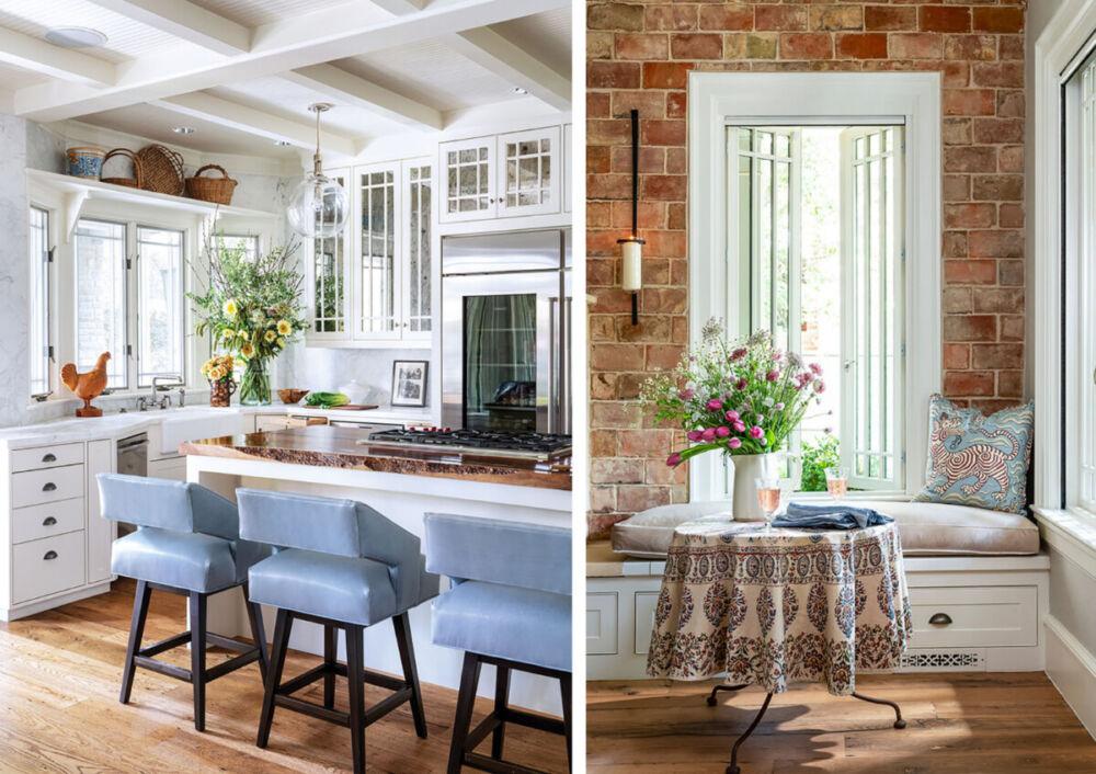 kitchen, breakfast nook, Denise McGaha