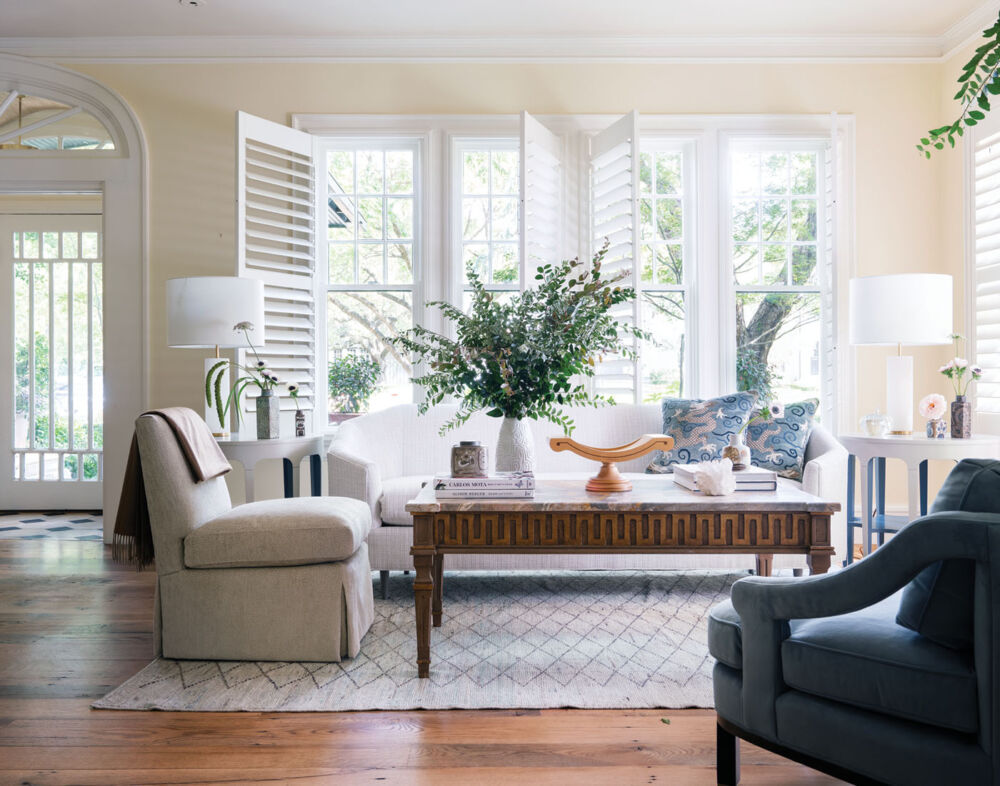 living room designed by Denise McGaha