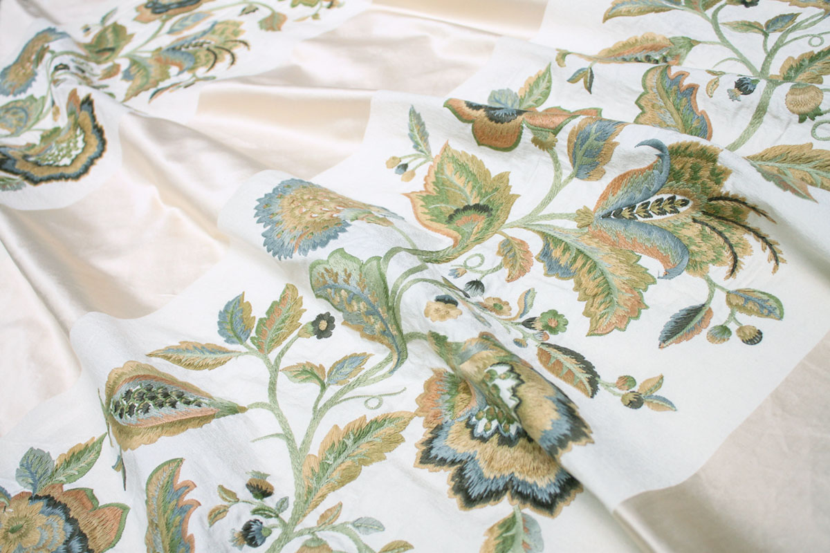"""floral print """"Gertrude"""" from Suzanne Tucker's Fabric Collection"""