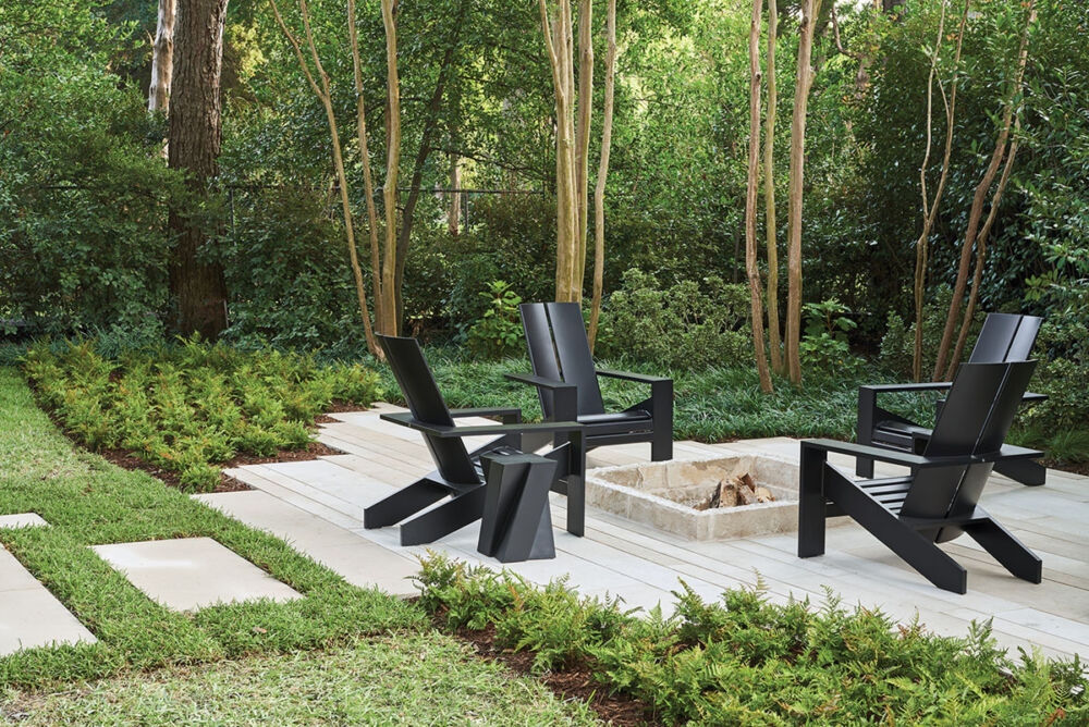 outdoor seating, Melissa Gerstle landscape design