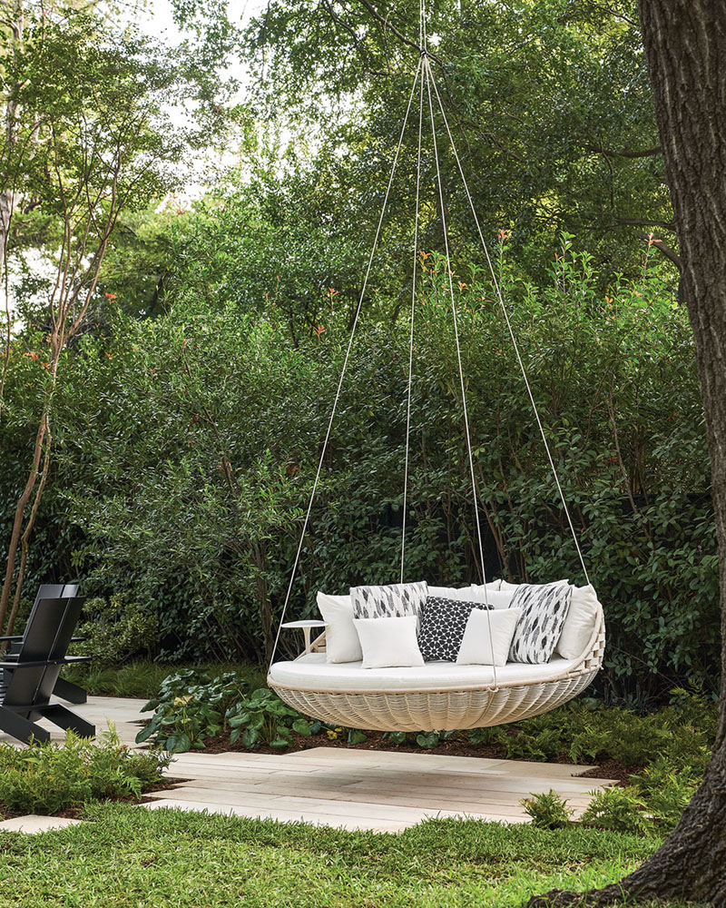 tree swing/bed