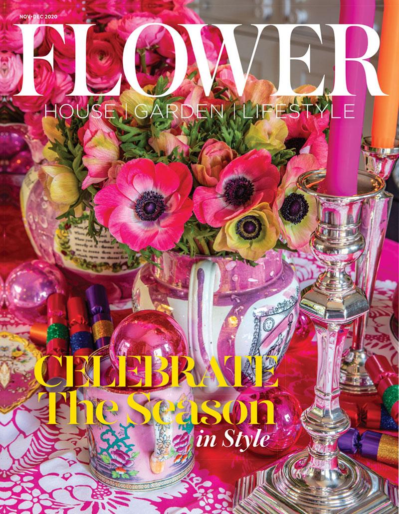 Flower magazine November December 2020 cover
