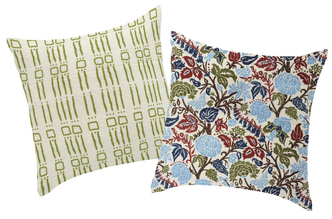 pillows by Marika Meyer Textiles