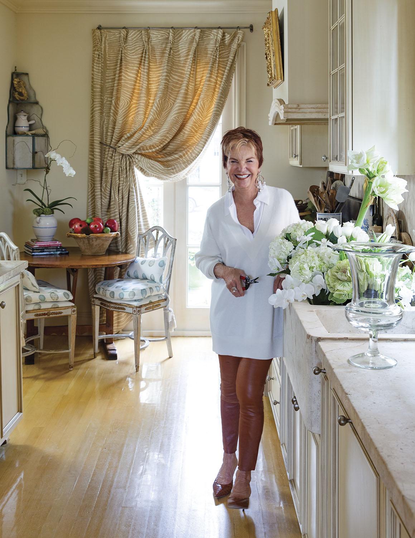 portrait of interior decorator Alix Rico