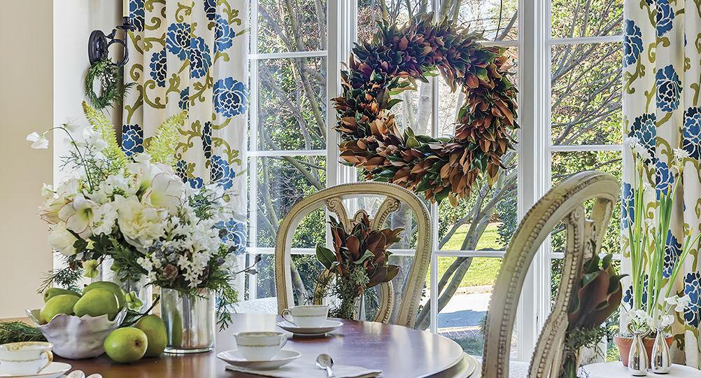 breakfast room, interior design by Vicky Serany