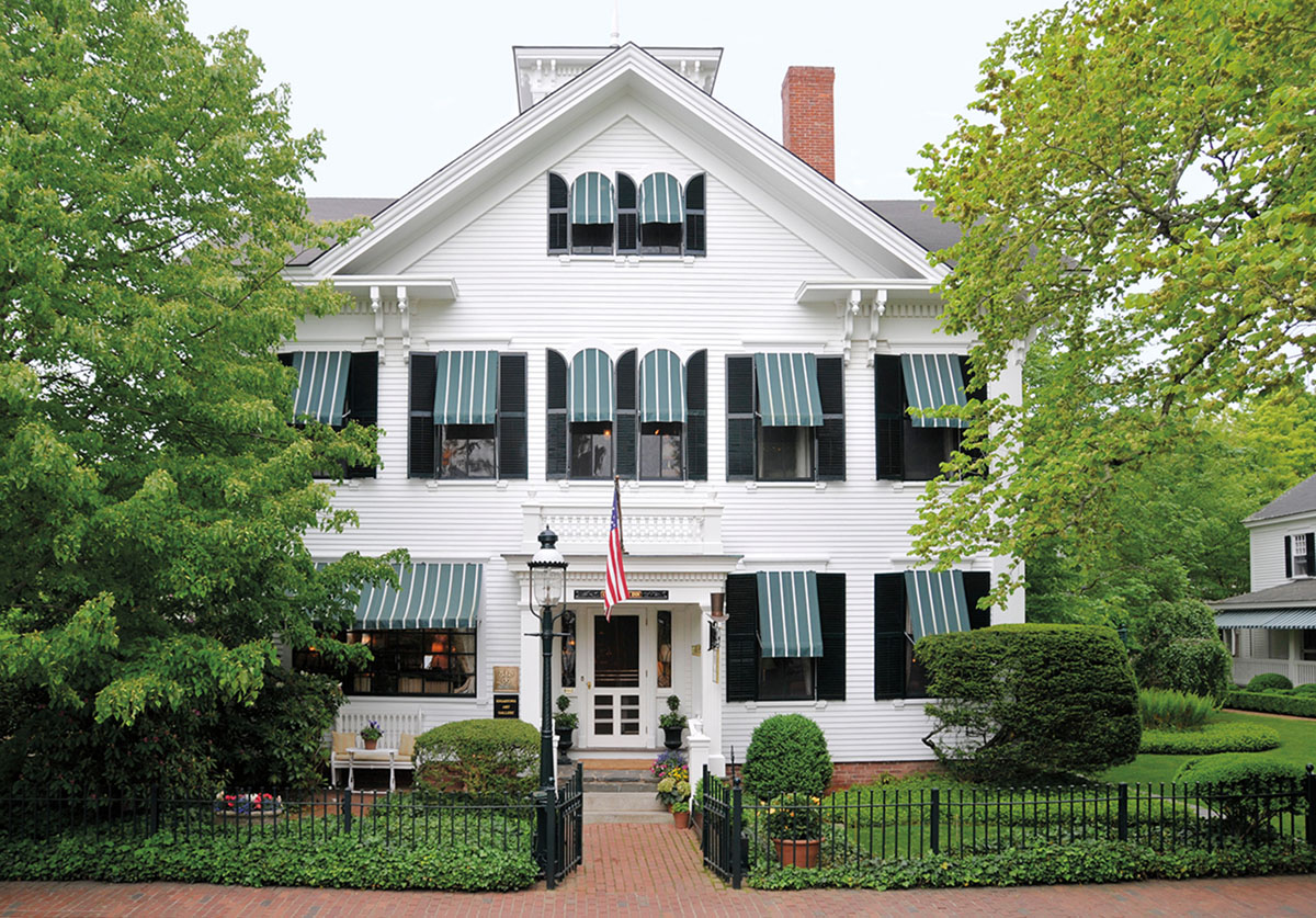 Classic Northeast Beach Retreat, The Charlotte Inn