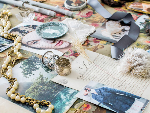 A mood board for the online shop Marchioness Home & Garden curated by interior designer and founder Bethany Berk