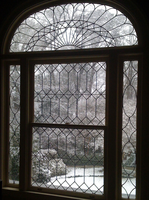 winter garden, snow