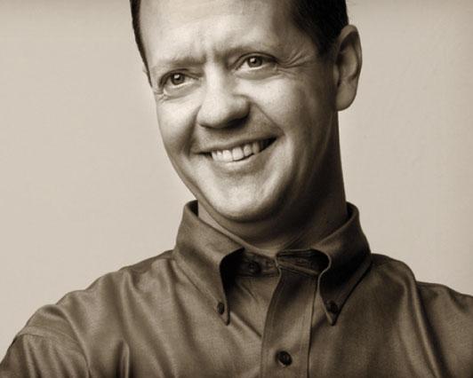 Portrait of Architect Pete Pritchard