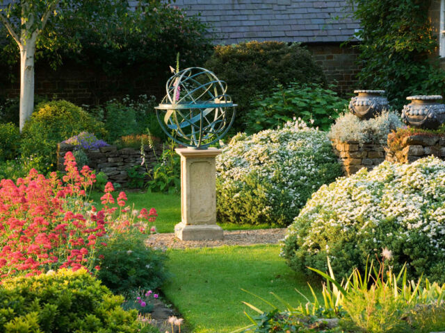 Armillary Sphere in an English garden