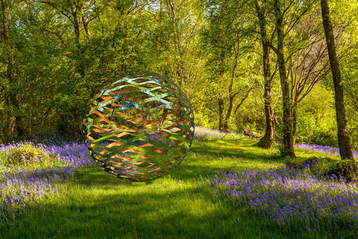 Filium by David Harber in a meadow of purple wild flowers