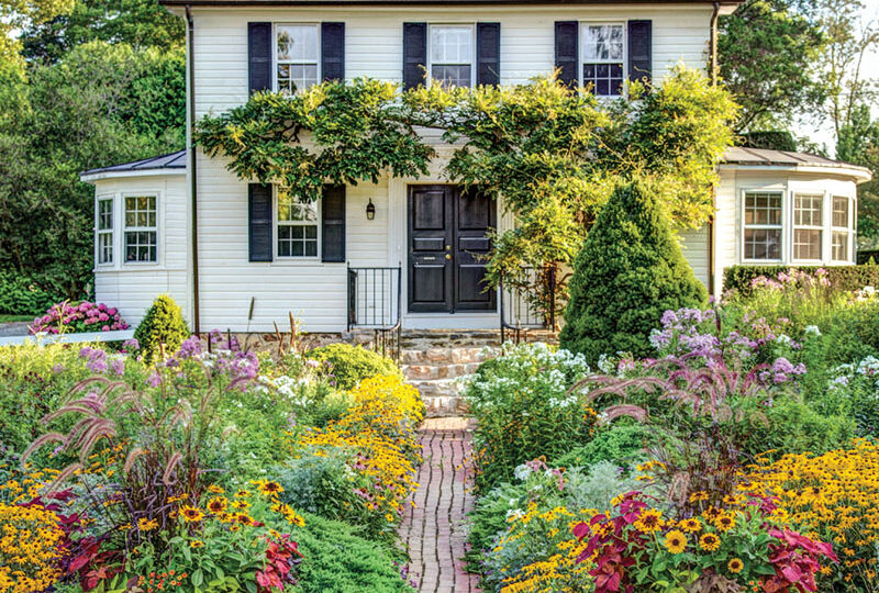 The Cottage Garden at Ladew, Monkton, Maryland