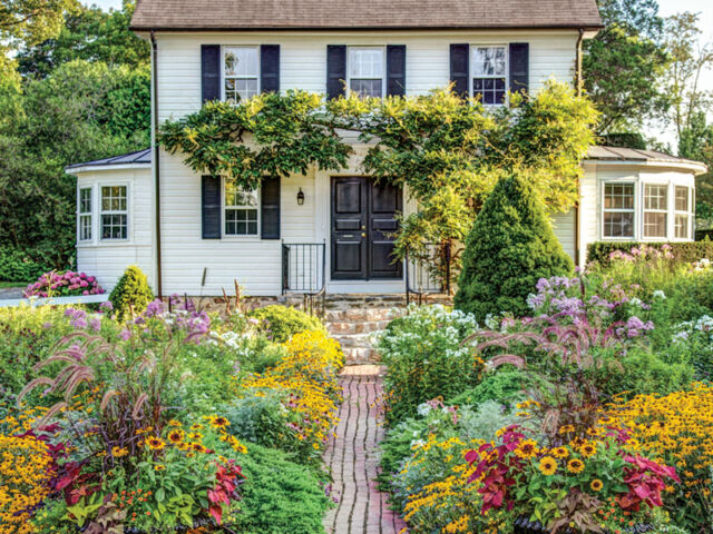 The Cottage Garden at Ladew, Monkton, Maryland