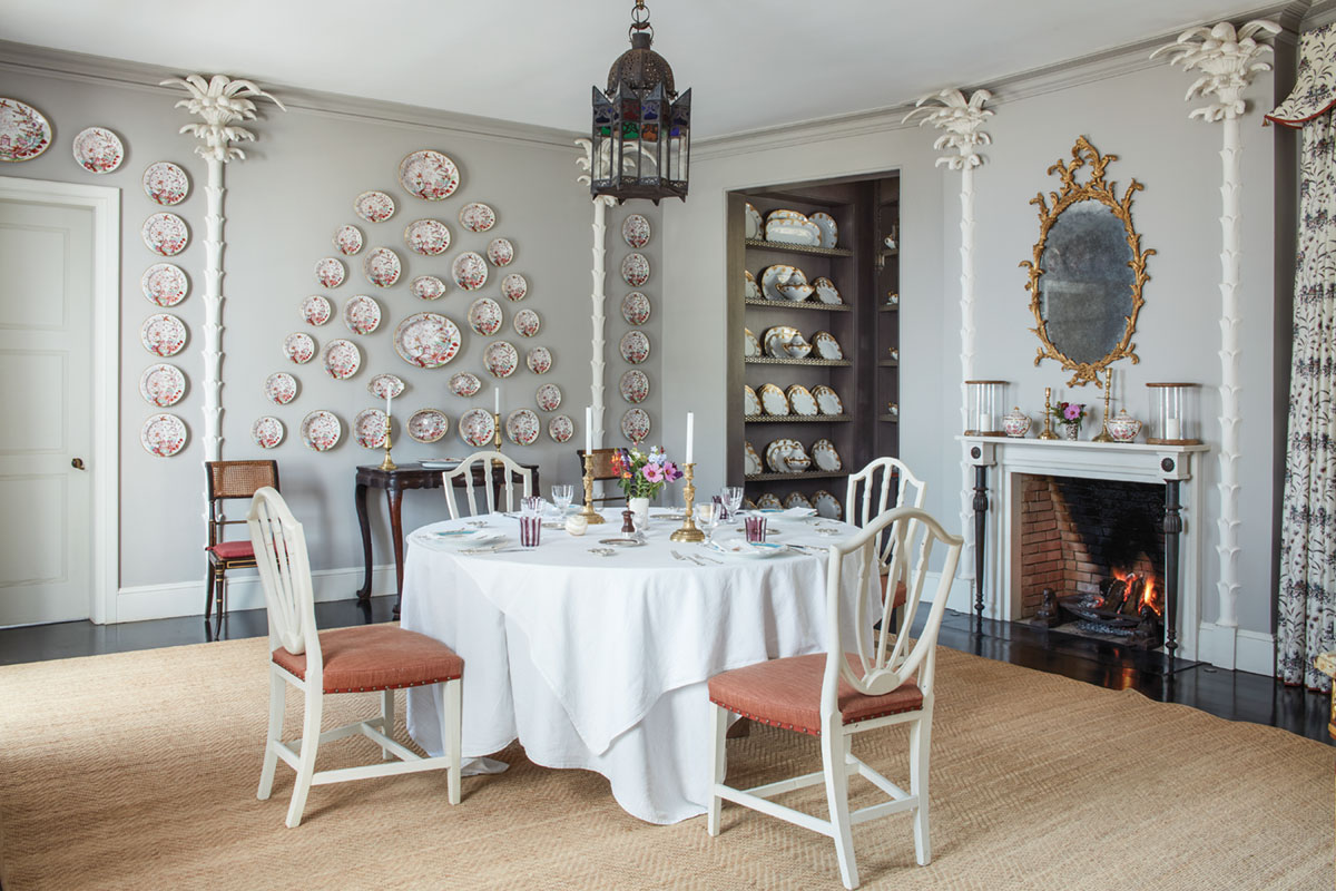 dining room decorated by Veere Grenney