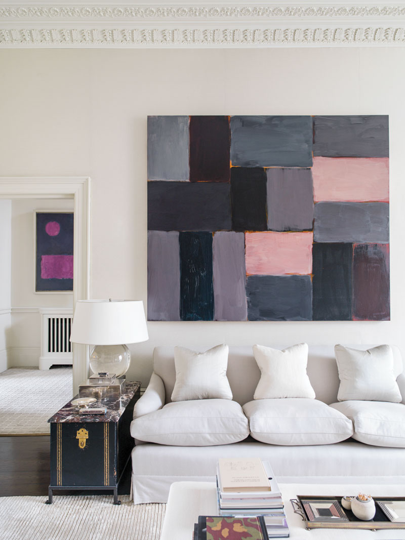 Living room decorated by Veere Greeney
