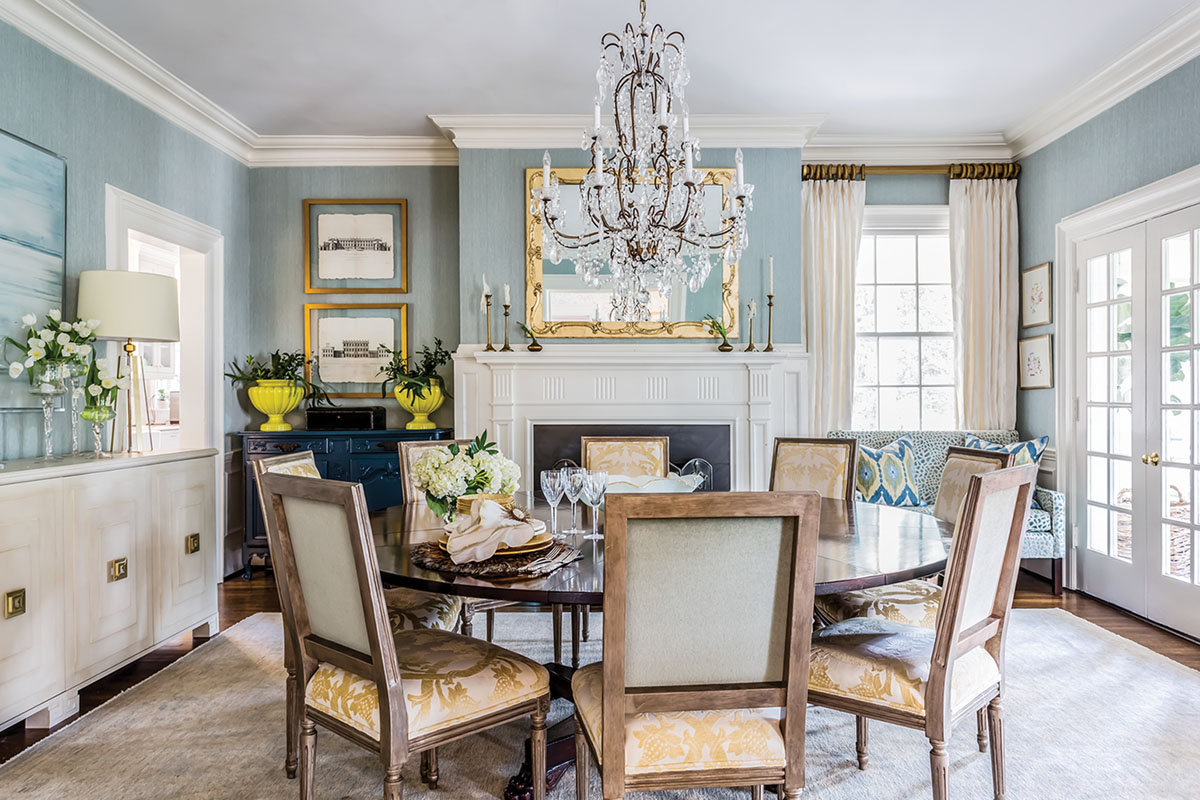 dining room, interiors by Martha Schneider,