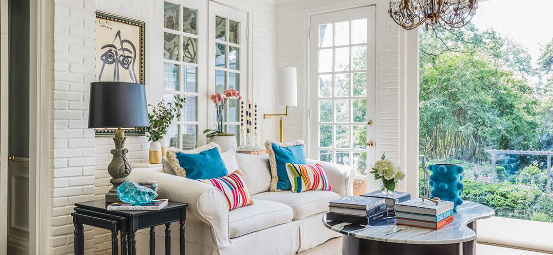 sunroom, interiors by Martha Schneider,