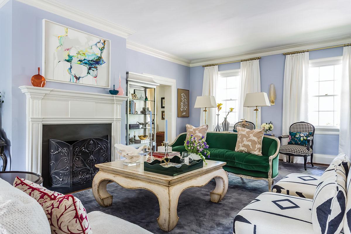 living room, interiors by Martha Schneider,