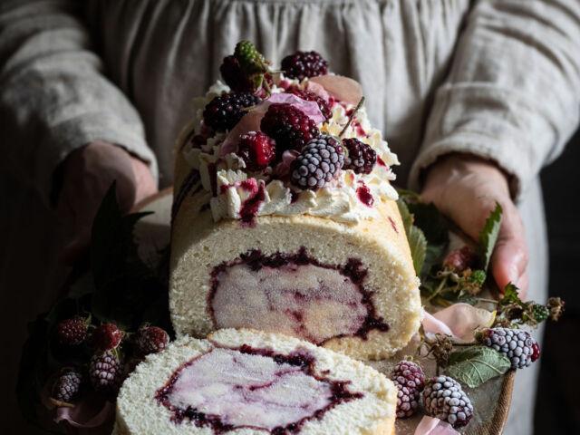 blackberry rose swirl ice cream-1-24-1