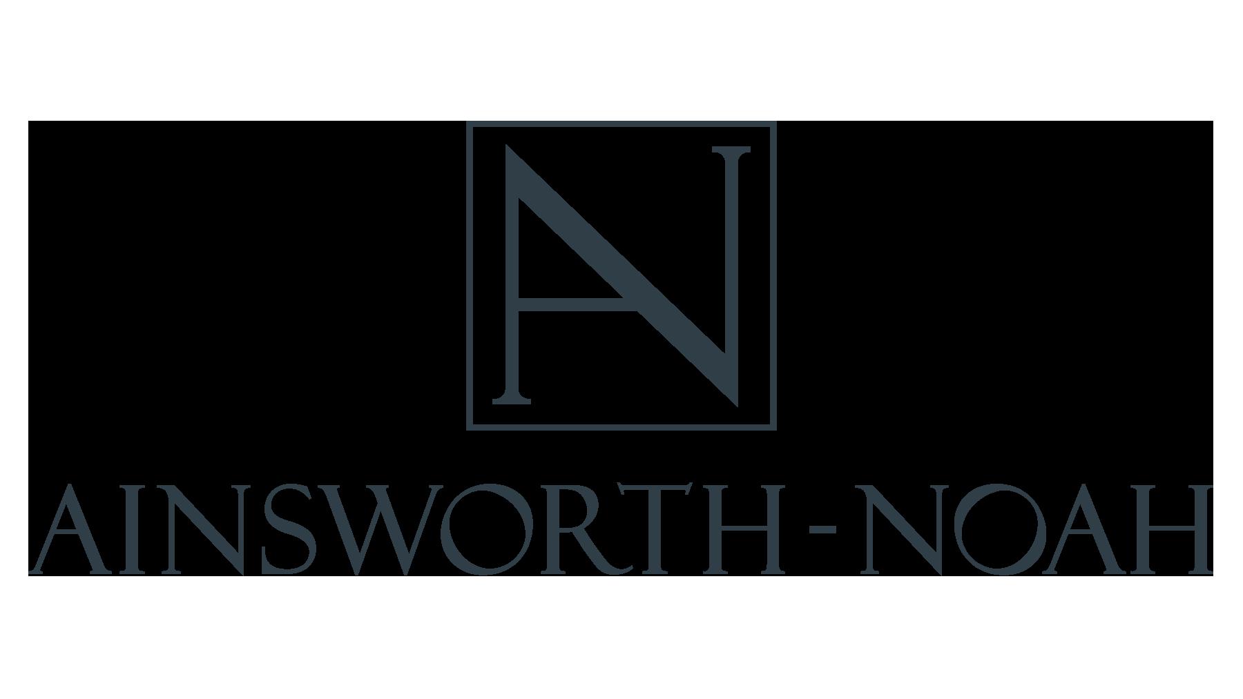 Ainsworth-Noah logo, 2021 Flower magazine showhouse sponsor