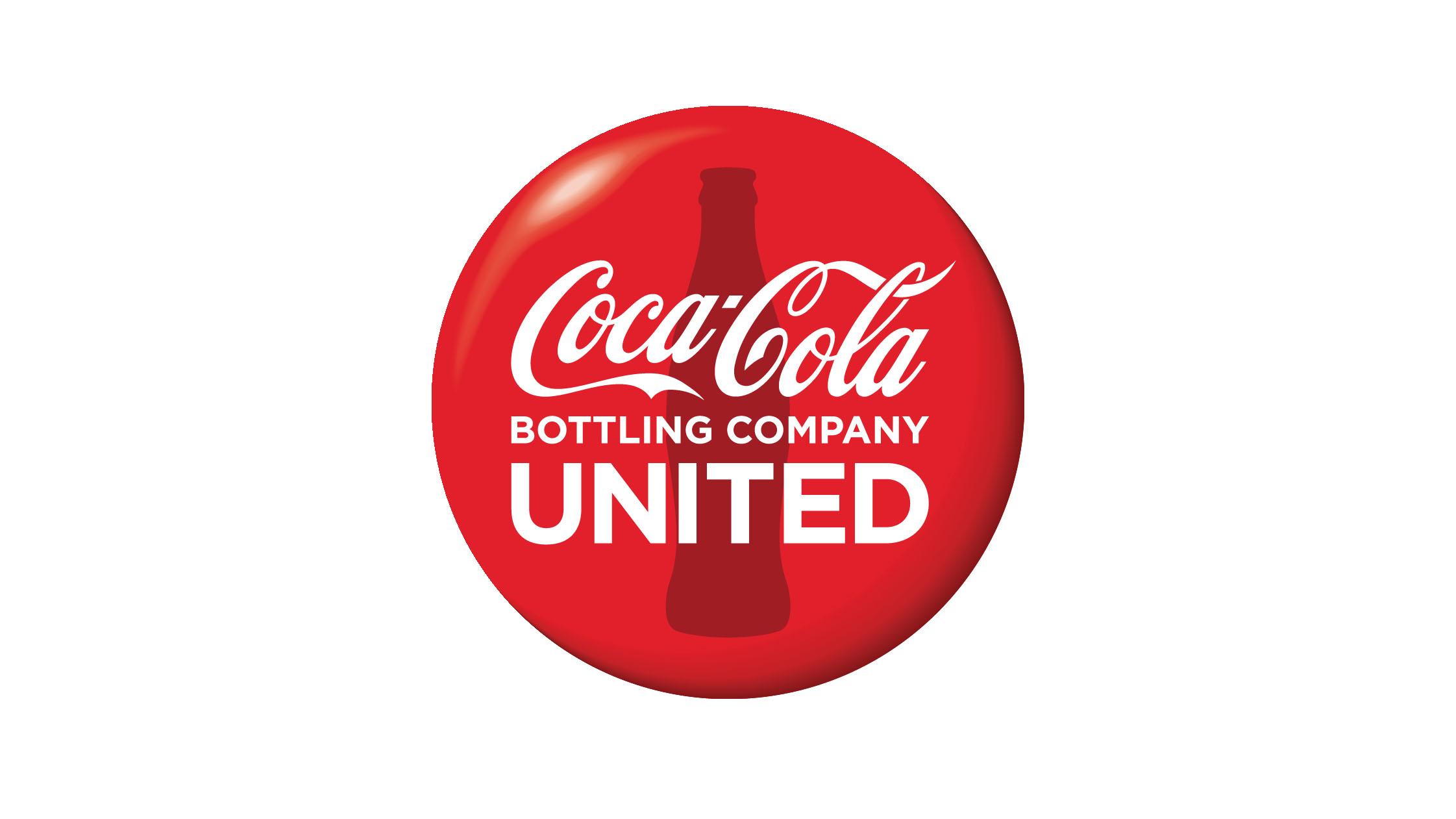 Coco-Cola United button logo