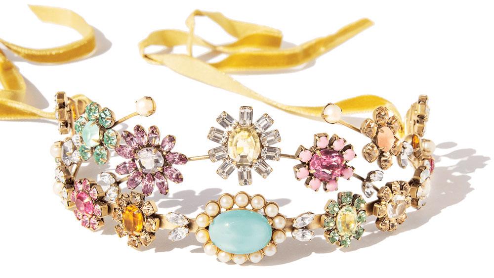 tiara, costume jewelry