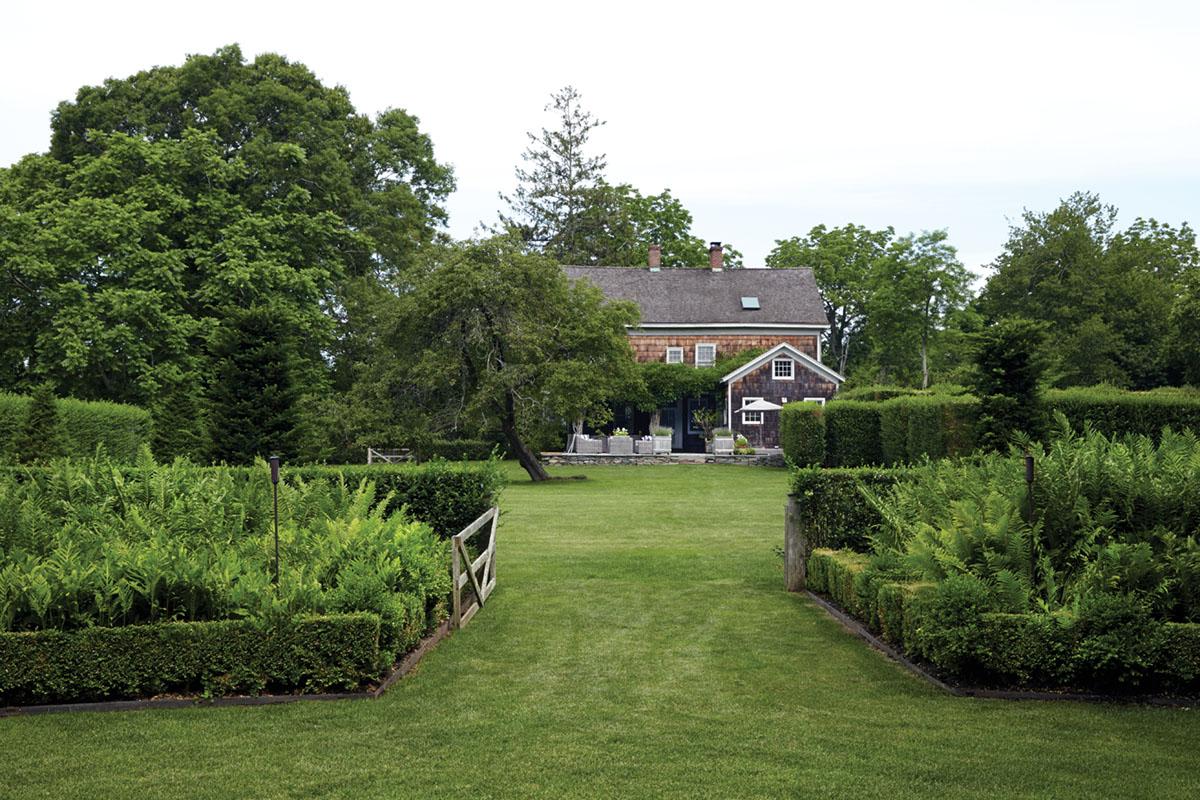 home and gardens of landscape designer Lisa Bynon and Mona Nerenberg, , owner of the beloved home goods store Bloom