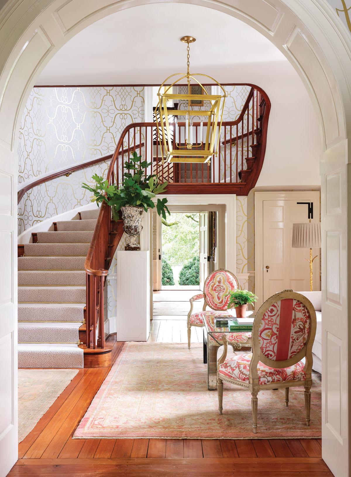 entryway by interior designer Janie Molster