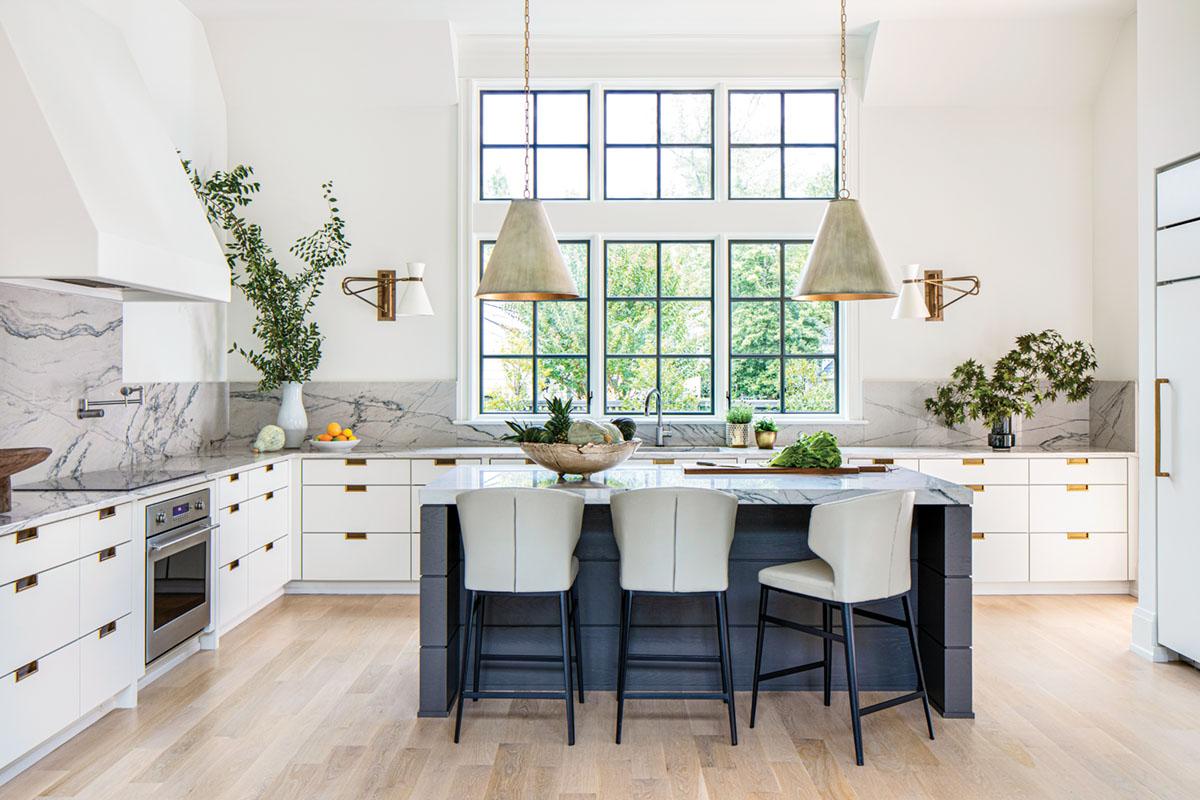 kitchen by interior designer Janie Molster
