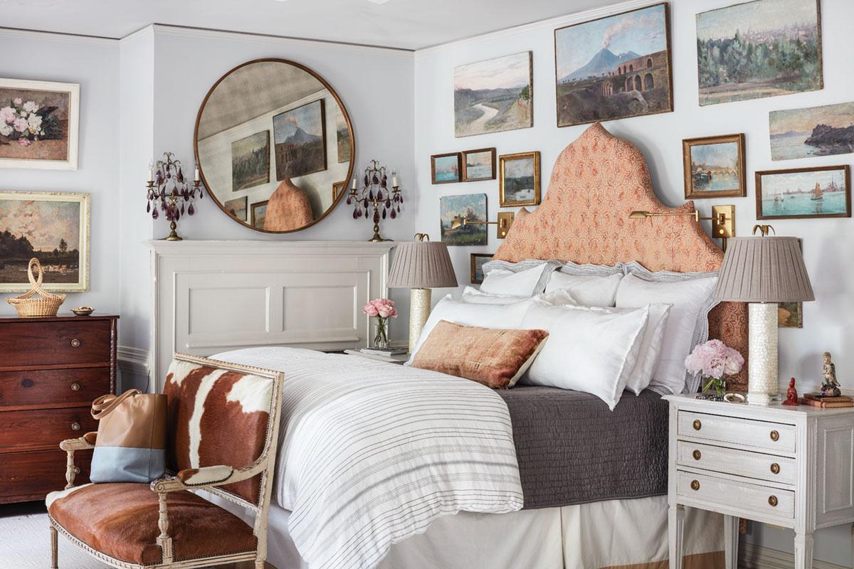 bedroom by interior designer Janie Molster