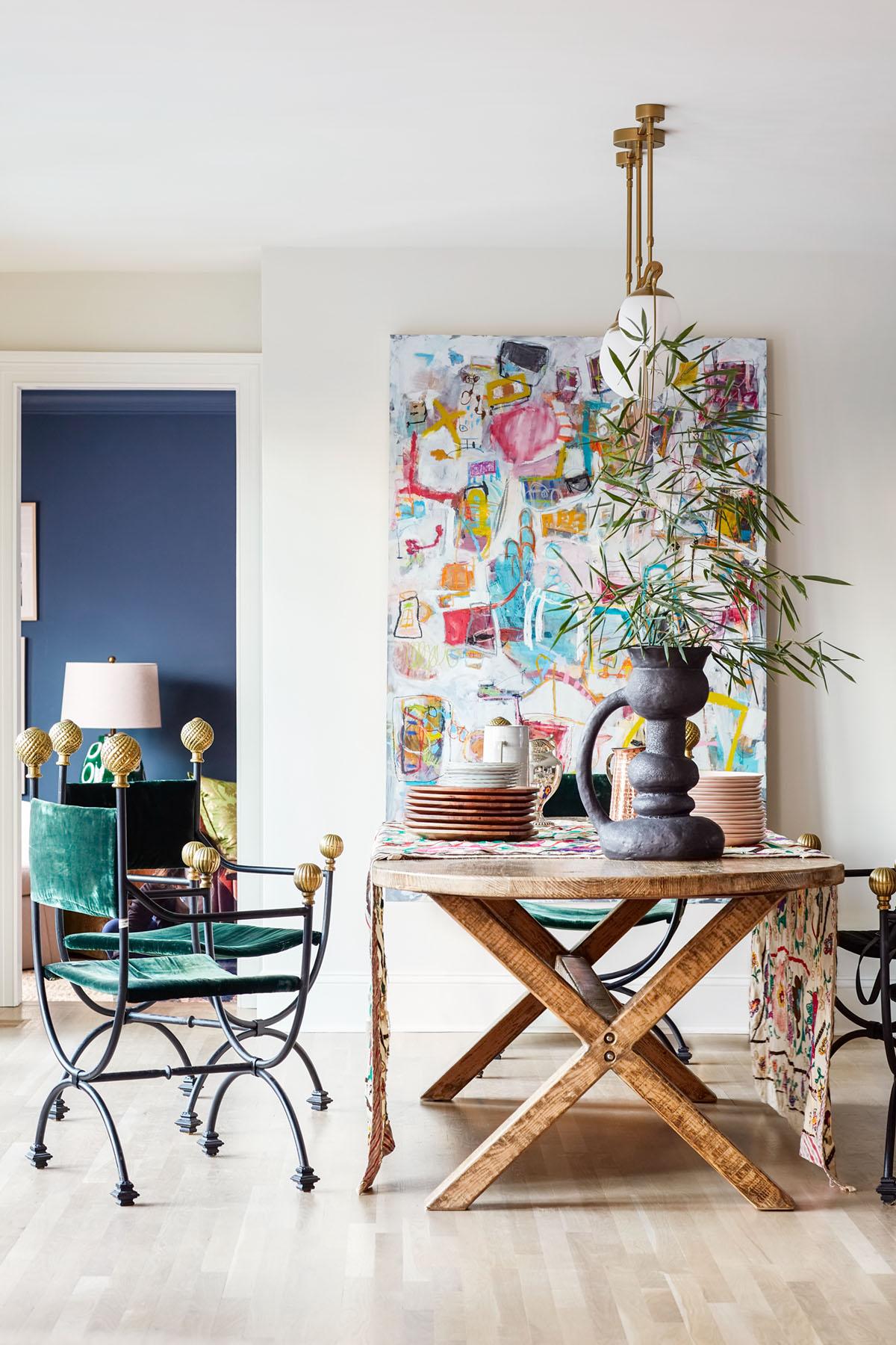 dining room by interior designer Janie Molster