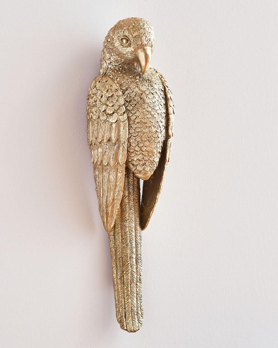 Agatha Studio bird-shaped brass door knocker