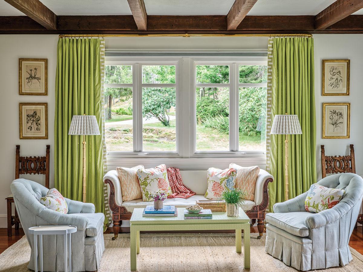 living room sitting area